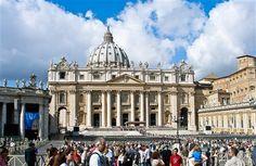 Saint Peter's Basilica in Rome, Italy