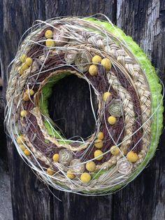Spring Wreath - Easter Wreath - Home Decor - Centrepiece - Summer Wreath