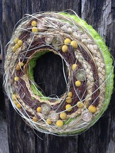 Spring Wreath - Easter Wreath - Home Decor - Centrepiece - Summer Wreath