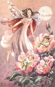 Rene Cloke - English - vintage postcard