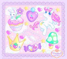 Sugary Puffy Dream by Princess-Peachie.deviantart.com on @DeviantArt