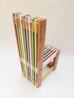 Chaise de palette à la main par ordre par PETULAPLAS sur Etsy