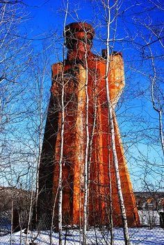 Hiawatha Iron Ore Mine, Iron River, Michigan | Abandoned Places in Michigan