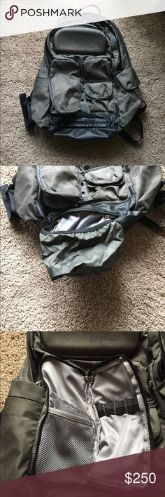 Rare Lululemon Cruiser Backpack Camp Missing zipper pull on laptop section. In good used condition. Make an offer. Recently sold on eBay for $175. lululemon athletica Bags Backpacks