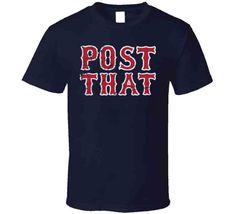 David Price Post That Quote Boston Baseball Fan T Shirt - Classic / Navy / Small (Youth)