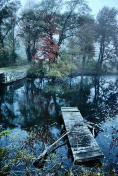 ✮ Foggy Dawn On The Dock