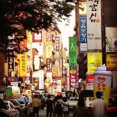 A parte colorida da cidade #southkorea #seoul #instatraveling #instagood #colorful