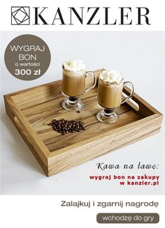 We start the morning with a coffe - properly given. www kanzler. Bath Caddy, Tray, Coffee, Kitchen, Home Decor, Marketing, Photography, Fotografia, Cooking