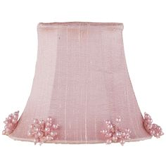 Pink Pearl Burst Chandelier Shade from PoshTots