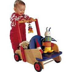 Walker Wagon - Best Baby Toys & Gifts for Babies - Fat Brain Toys Infant Activities, Activities For Kids, Best Baby Toys, Push Toys, Baby Fat, 1st Birthday Gifts, Green Toys, Stacking Toys, Montessori Toys