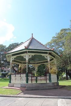 A pic of the rotunda at Petersham Park..