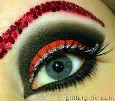 queen of hearts makeup look