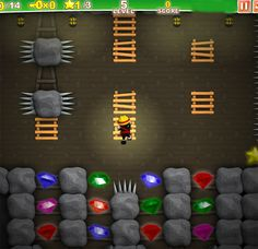 Mining ninja style.. #onlinegames #puzzle #game