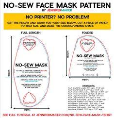 no sew face mask pattern \ no sew face mask . no sew face mask diy . no sew face mask bandana . no sew face mask pattern . no sew face mask tshirt . no sew face mask tutorial . no sew face mask from tshirt . no sew face mask from socks Easy Face Masks, Homemade Face Masks, Diy Face Mask, Pin On, Fabric Markers, Old T Shirts, Maker, Diy Mask, Mask Making