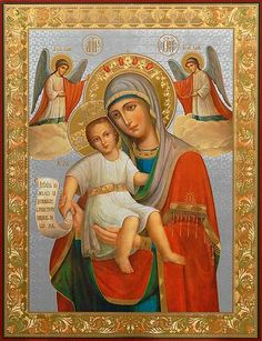 It Is Truly Meet Icon of the Mother of God - St. Elisabeth Convent - #CatalogOfGoodDeeds #Orthodox #Icons #OrthodoxIcons #Orthodoxy #Theotokos #VirginMary #Miracle #Blessed #Faith