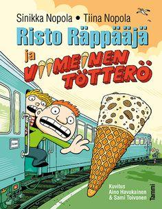 lukuhaaste #47, hauska kirja: Risto Räppääjä ja viimeinen tötterö (äänikirjana)