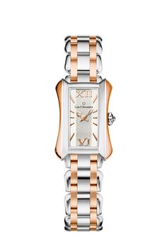 Carl F. Bucherer Two-Tone Alacria Midi in 18krg & Steel | Oster Jewelers