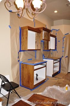 How to paint kitchen cabinets like a pro!
