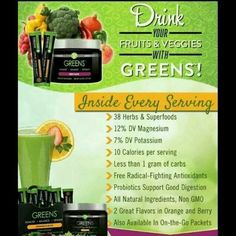 not getting enough fruits and veggies?  need to detox your system? Easy and tastes great!