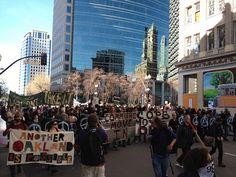 Occupy Oakland, January 2012 (by Bob Spence)