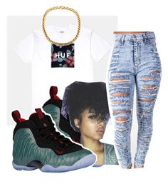"""""""💄z"""" by iiammiakay ❤ liked on Polyvore featuring NIKE"""