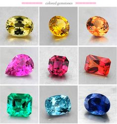 Sapphires in every color of the rainbow #BrilliantEarth #Sapphire