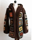 Scrap Granny Hooded Jacket Crochet Pattern- link to purchase.  Must buy this!