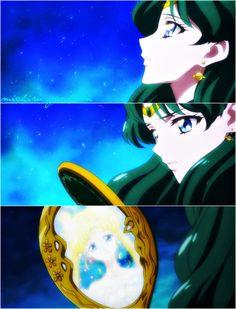 Sailor neptuno y princess serenity.