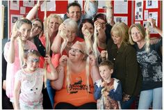 Local community turns out to support Paula's hair donation | Plymouth Herald