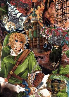 The Legend of Zelda <~~ I was playing Twilight Princess last night until 3am, but (because it was my first time playing) I couldn't get past the cave to go save the kid. You know, the one that runs after the monkey after you show them some sword tricks, which I completely forgot.