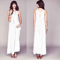☆FreePeople☆ White Storyマキシワンピ