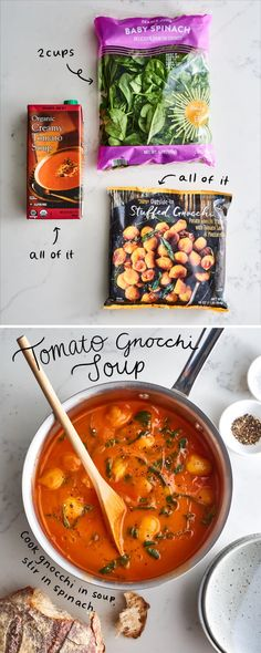 5 More Impossibly Easy Trader Joe's Dinners 5 Easy Trader Joes Abendessen mit nur 3 Zutaten Soup Recipes, Vegetarian Recipes, Dinner Recipes, Cooking Recipes, Healthy Recipes, Vegetarian Soup, Healthy Lunches, Healthy Sweets, Detox Recipes