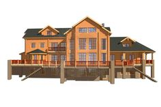 CH4-916 - IKIHIRSI® Finnish log house for better living <3