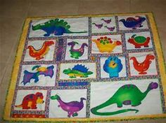 dinosaur quilt pattern - Bing images