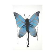 Costumes For All Occasions Fw8111Bbu Wings Child Butterfly Blue