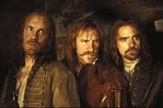 Man in the Iron Mask..the musketeers...