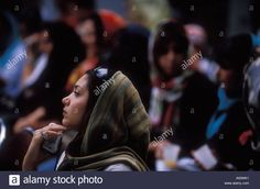 Download this stock image: Women  in northern Tehran, Iran  ©2005 Mark Shenley - A93WK1 from Alamy's library of millions of high resolution stock photos, illustrations and vectors.