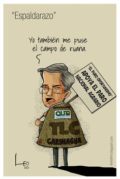 """""""Espaldarazo"""". la nueva caricatura de Leo"""