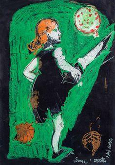 Soul - Football – Print Chest Fine Art, Giclee, Painting, Art, Fine Art Prints, Etching
