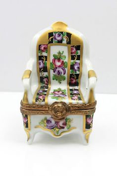 Painted Chair Trinket Box