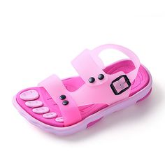 Dependable High Quality Original Brand Kids Casual Sandals Soft Anti-slippery Boys Girls Beach Sandals 21-30 Children's Shoes Sandals