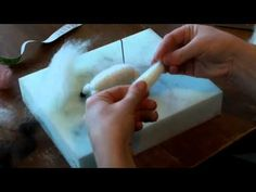 ▶ Needle Felted Sheep Part Two - YouTube