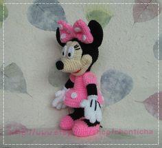 Mickey Mouse and the Gang  PDF amigurumi crochet door Chonticha, $25.00