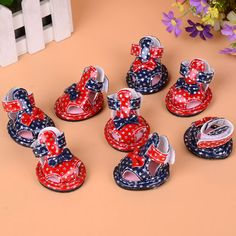 2016 bows Small Dog Shoes For Cute Pet Shoes summer Breathable Shoes Pomeranian bear