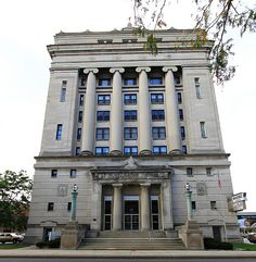 I think this Masonic Temple in Fort Wayne kind of looks like an old fashioned library. What do you think? Masonic Temple, Masonic Lodge, Fort Wayne Indiana, Freemasonry, Old Pictures, Lodges, Around The Worlds, Reception Ideas, Wedding Reception