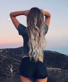 Summer girl Long hair Ombre Hair extensions More info here rubin - Hair Style Fow Woman Light Blonde Balayage, Balayage Hair, Blonde Ombre, Ombre Hair Extensions, Long Hair Extensions, Brown Blonde Hair, Ombre Hair Color, Long Ombre Hair, Gray Ombre