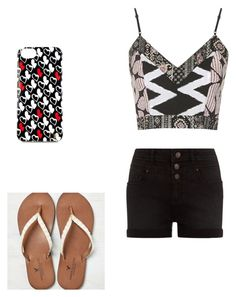 """""""Untitled #179"""" by dancerlove7 ❤ liked on Polyvore featuring Topshop, American Eagle Outfitters and Diane Von Furstenberg"""