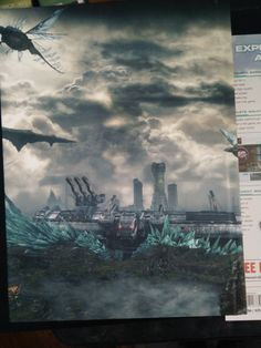 Xenoblade Chronicles X back of guide
