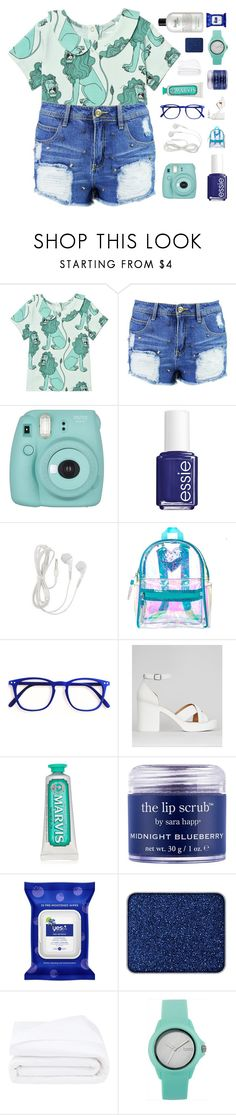 """""""♡ leo, you get a brain freeze chewing mint gum"""" by deli-lemonade ❤ liked on Polyvore featuring Boohoo, Fujifilm, Essie, New Look, Marvis, Sara Happ, Yes To, shu uemura, Frette and Topshop"""