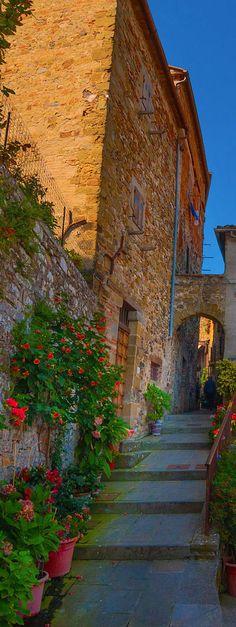 Anghiari City in Arezzo - Tuscany | Italy